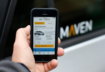 GM's Maven car-sharing launches in New York