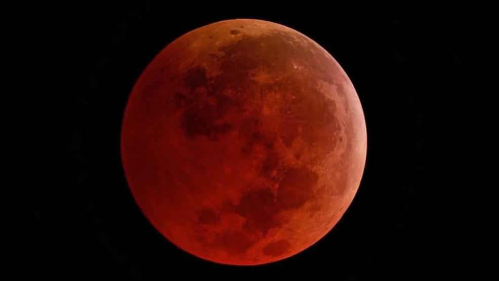 Check Out The Super Blood Wolf Moon Total Lunar Eclipse Sunday Wstm
