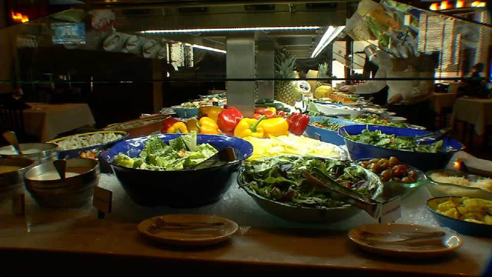 Besides their different meat cuts this restaurant is also{&amp;nbsp;} famous for its big salad bar. (News 4 San Antonio)<p></p>