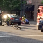 Bicycle rider hurt in NE Portland crash