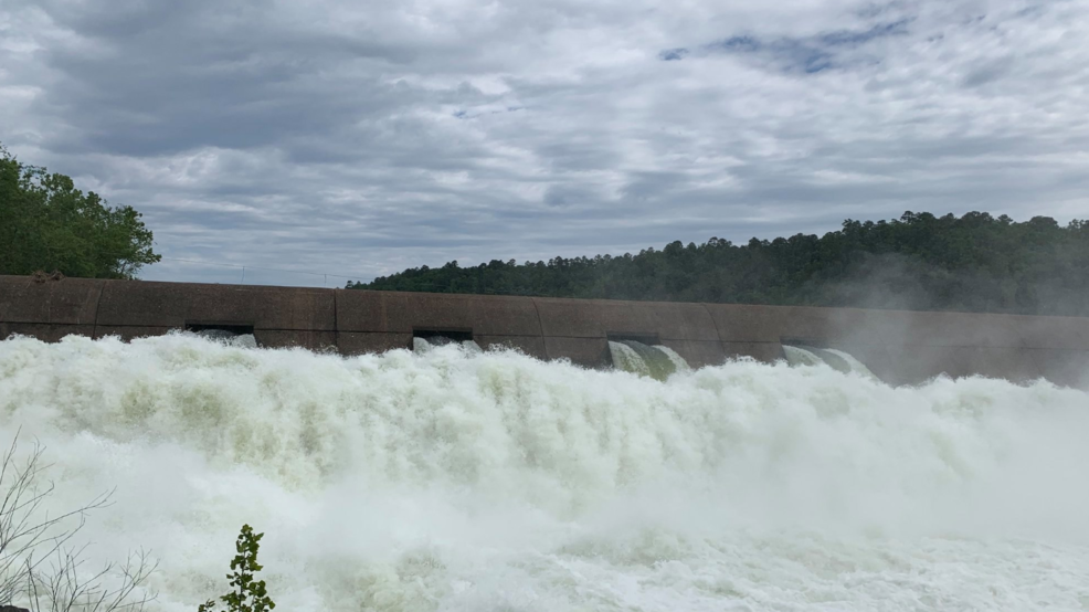 NWS: Water releases from Lake Keystone will likely cause river to exceed flood stage
