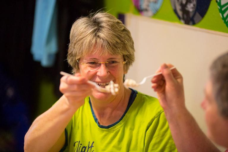 Full Tilt Ice Cream started the weekend off right with Eat Ice Cream for Breakfast Day!!! Their location in White Center encouraged guests to dress in their pajamas and eat some breakfast-themed ice cream flavors. Happy weekend! (Sy Bean / Seattle Refined)