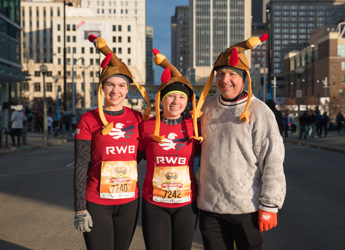 People: The Marquez Family / Event: Thanksgiving Day Race (11.23.17) / Image: Sherry Lachelle Photography / Published: 12.1.17