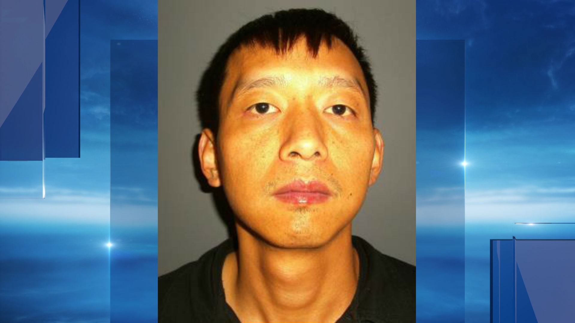 California City police say they've arrested Ming Xing Sun after finding him growing more than 700 marijuana plants. (Photo from California City Police Department)