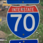 Rollover on I-70 causes delays