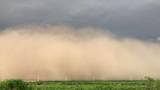 Weather Video/Photos: Storm kicks up cloud of dust