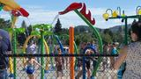 New splash park opens in Roseburg as heat wave hits