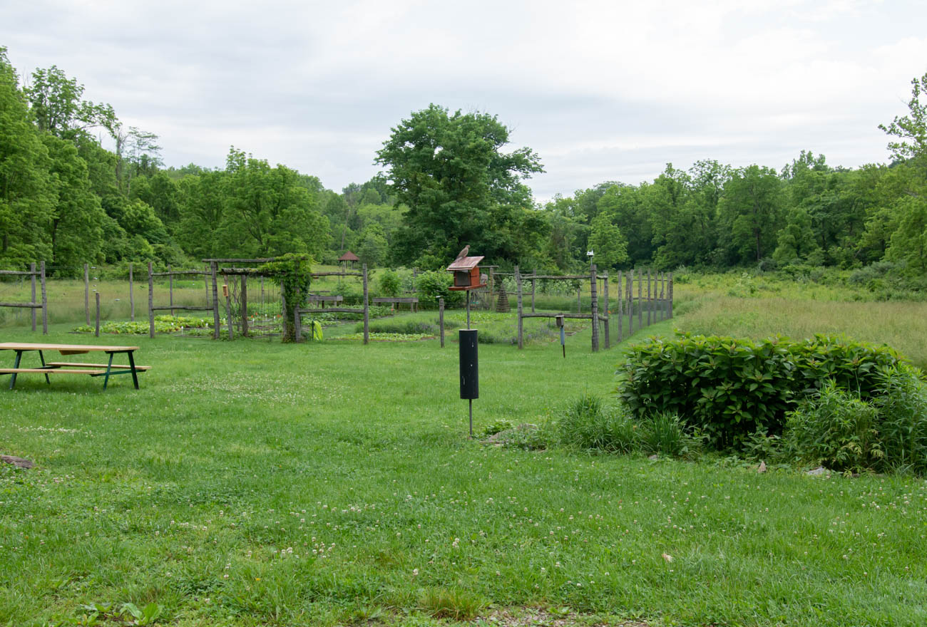 "The nearly 600-acre property was founded by Louis & Louise Nippert with the mission to ""preserve for the public an area reflecting the traditional environment of Indian Hill and its historical significance by preserving Greenacres in its current state of woodland and farmland."" The organization works as a resource for people to learn the importance of agriculture, nutrition, farming, and gardening. / Image: Elizabeth Lowry // Published: 6.22.19"