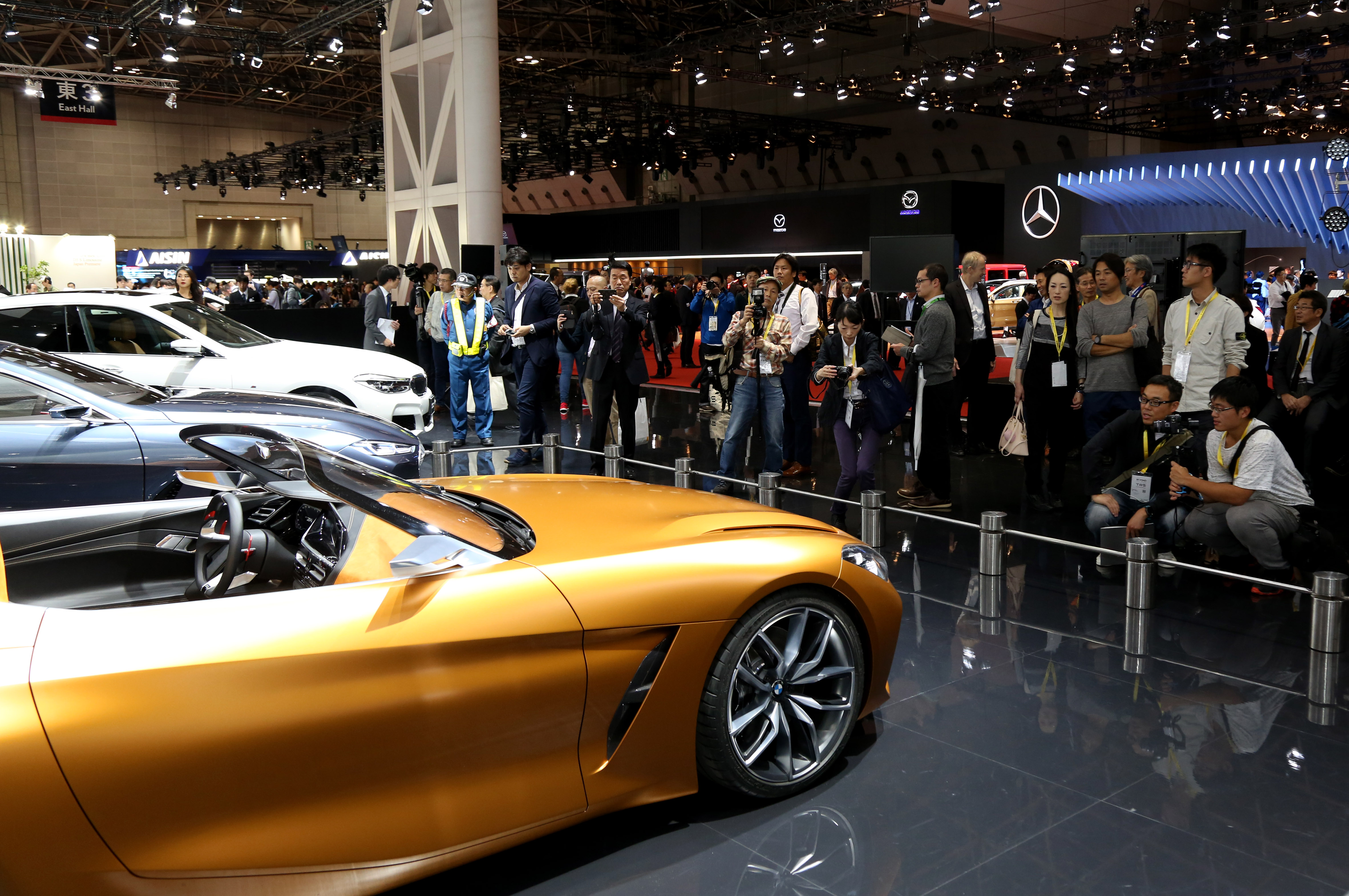 Tokyo Motor Show 2017  Featuring: BMW Where: Tokyo, Japan When: 25 Oct 2017 Credit: Yukio Tomita/Future Image/WENN.com  **Not available for publication in Germany**