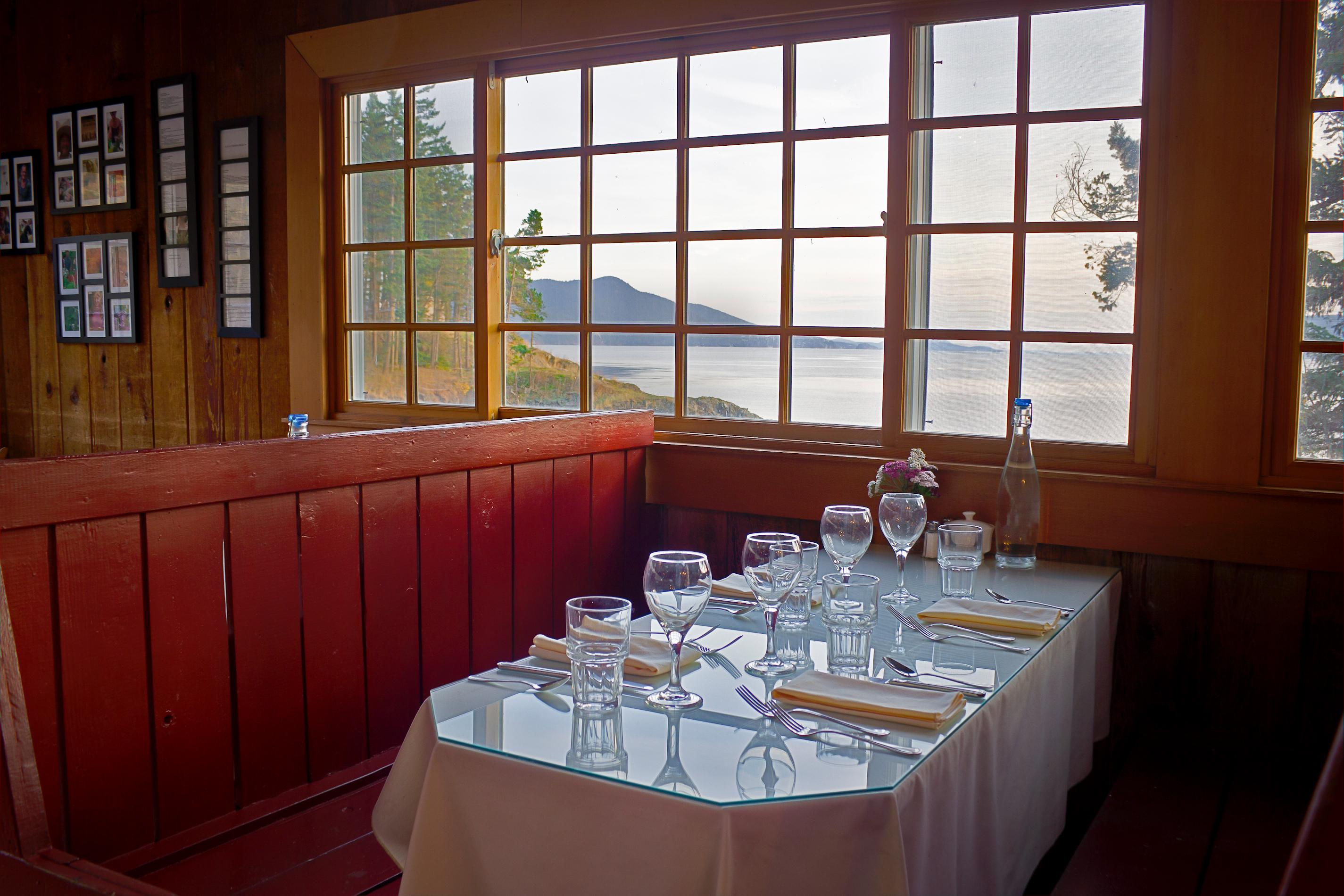 Doe Bay Café. Photo courtesy of the San Juan Islands Visitors Bureau.