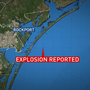 Tanker explodes off coast of Port Aransas, two crew members missing