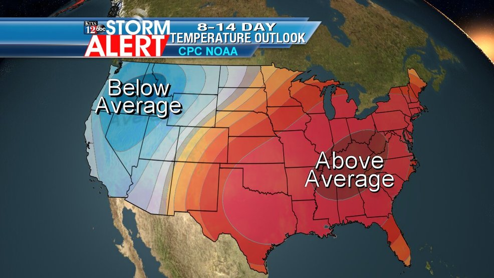 Above-average temperatures and drought conditions expected in the fall in the Big Country - KTXS