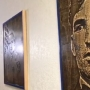 Anonymous artist carved portraits of fallen deputies
