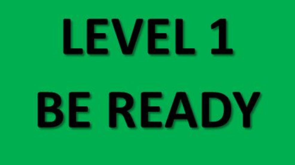EUGENE, Ore. (September 2) - A level 1 evacuation notice has been issued in Lane County, for residents near Hwy 126 from milepost 45 east to milepost 16 near Frissel Boat Launch.