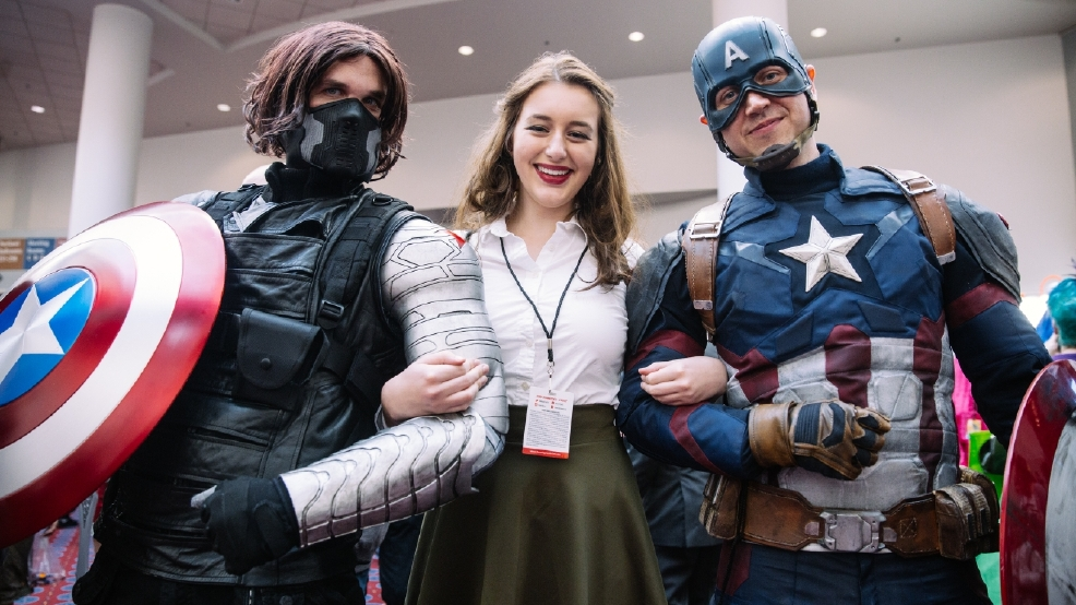 Anime Characters For Comic Con : Photos incredible costumes highlight rose city comic con