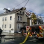 Fire damages Pawtucket apartment building
