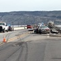 Fatal crash closes Hwy 97 north of Klamath Falls