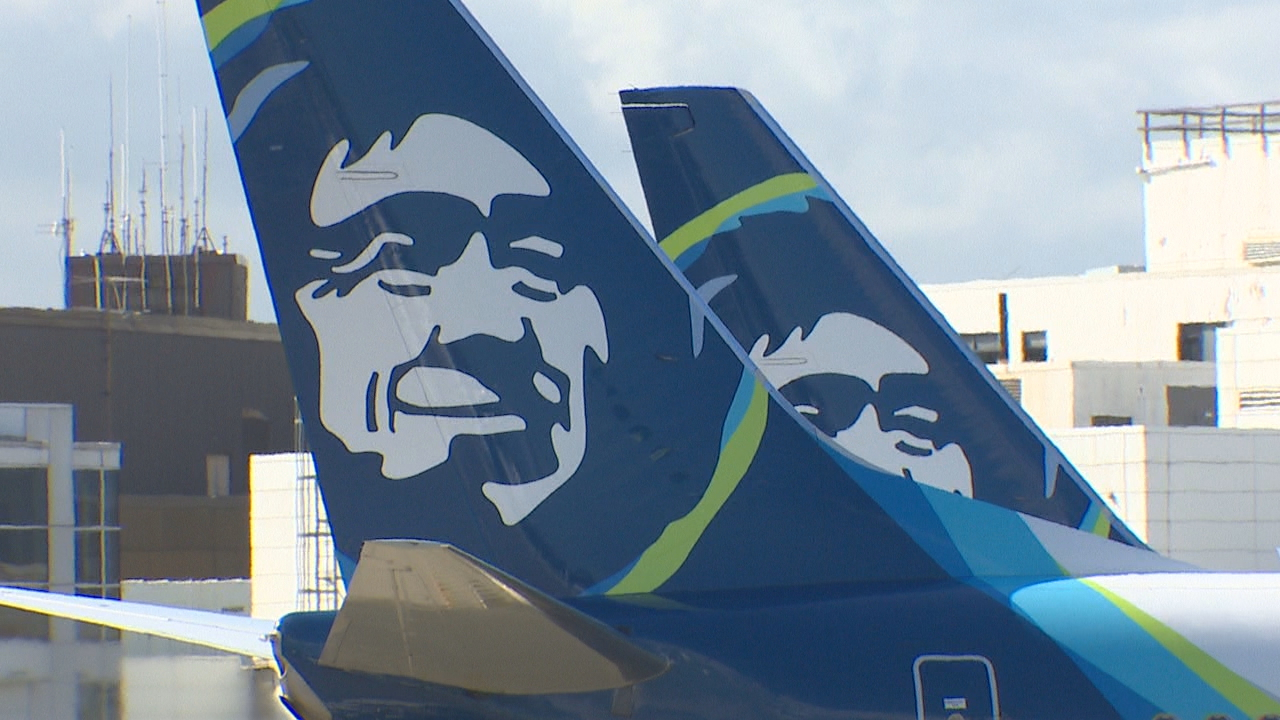 FILE -- Alaska Airlines Boeing 737s at Sea-Tac Airport (Photo: KOMO News)
