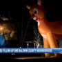 Daphne neighborhood 'inflated' with Christmas spirit