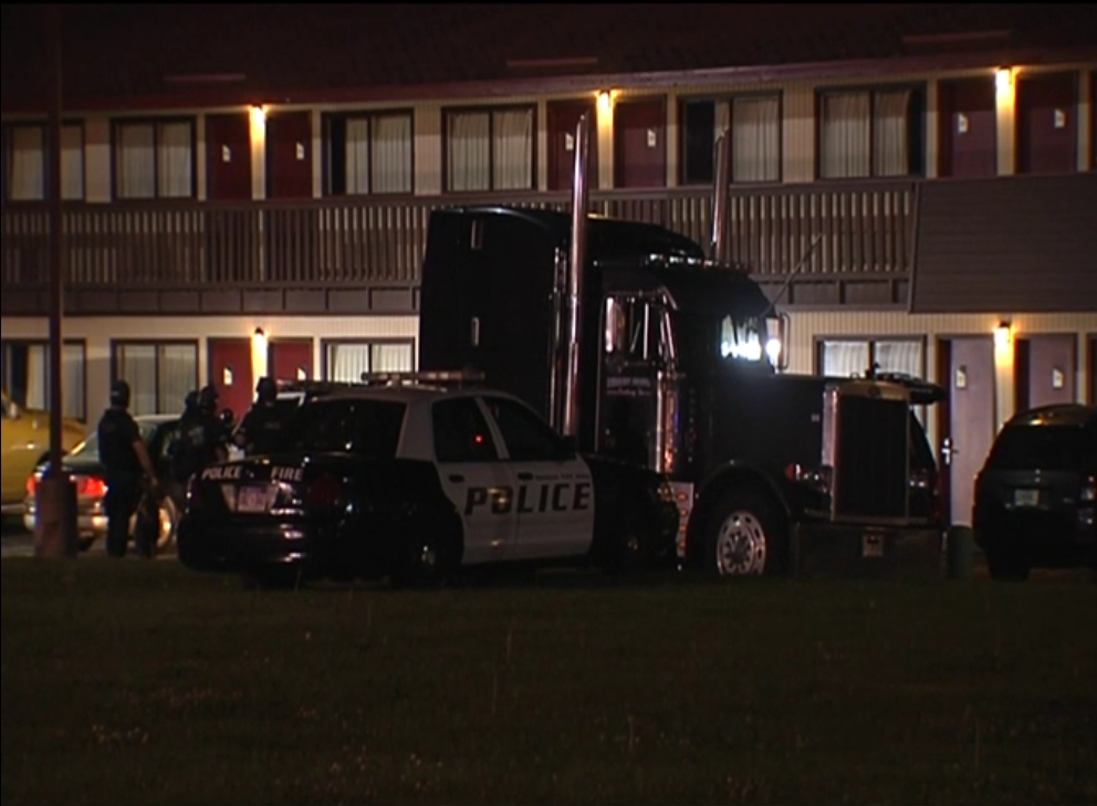 Two People Are In Custody Following An Hour Plus Standoff At The Red Roof  Inn