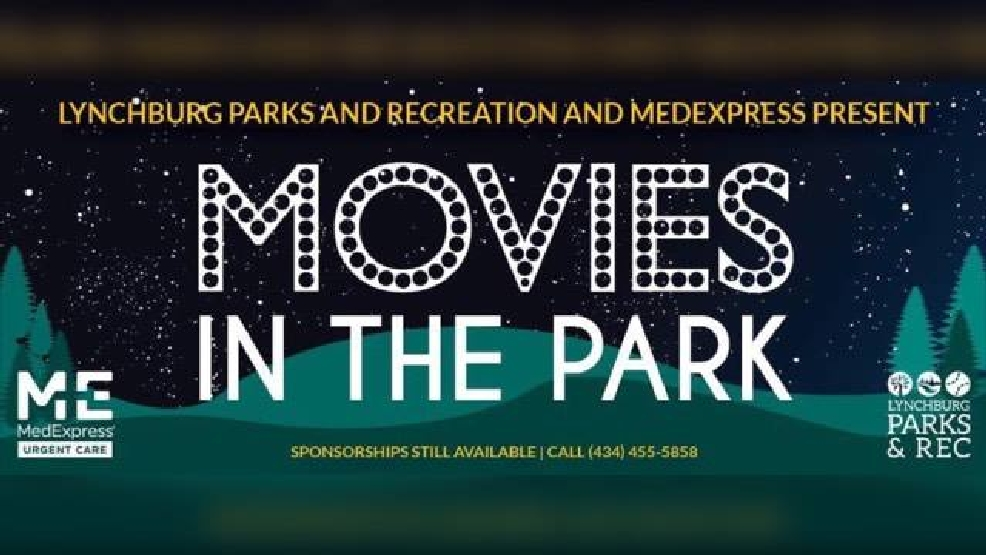 lynchburg parks and rec releases movies in the park
