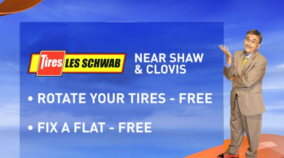 Kopi is live at Les Schwab Tires on Clovis near Shaw Avenue on Friday, December 2nd 6am-10am