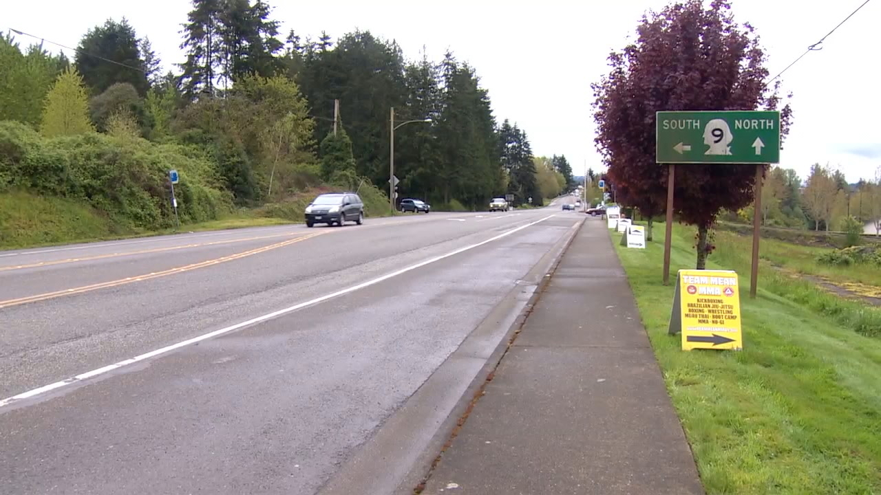A woman was attacked near here last week. (Photo: KOMO News)