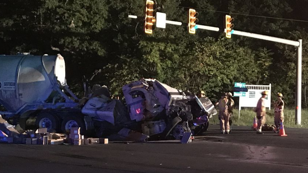 UPDATE: One person taken to hospital in double tractor