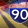 Woman killed, 3 teens ejected in I-90 rollover crash
