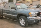 Photo of the 2006 GMC Sierra believed to be driven by Jordan D. Murdock