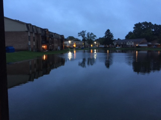 The Arbors Apartment Complex in Battle Creek on Tuesday morning.