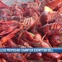 Rep. Wilcox proposing crawfish boil exemption bill