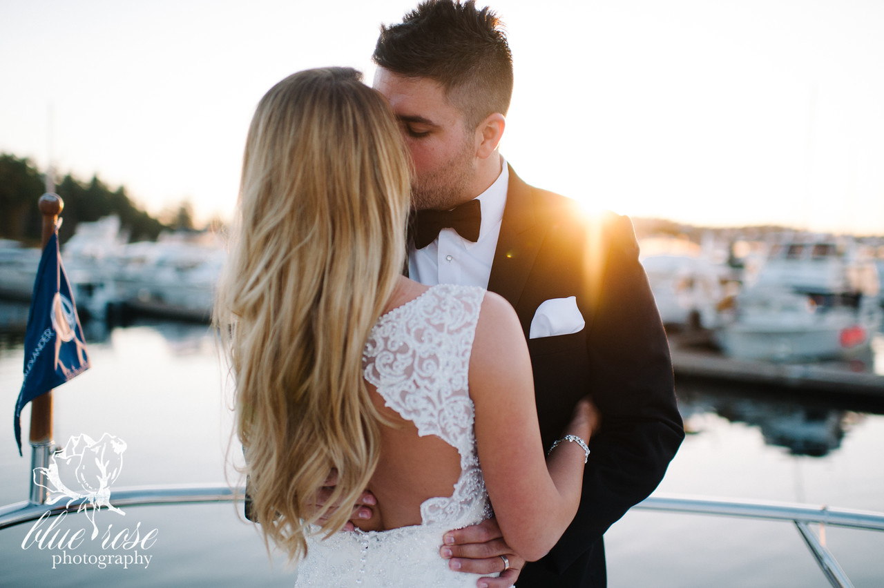 We may not know this couple, but I have to be honest - I got a bit emotional looking at this gallery! It's just THAT breathtaking. Blue Rose Photography of Seattle captured Sara & Jonathon's special day back in August of 2015.  This lovely couple tied the knot at the Roche Harbor Resort, arrived via seaplane, and even snapped some shots while snuggling up on a boat...Does it get more Washington than that?! I don't think so! Click through the gallery and get wedding inspo, or to just gaze upon the beauty that is this glorious wedding. Do you or somebody you know have a wedding you think deserves the spotlight? We LOVE (pun intended) documenting love stories, so email us at hello@seattlerefined.com to submit some wedding or engagement shots! (Image: B