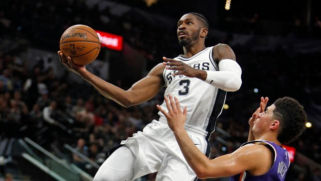 Spurs' Brandon Paul's goal is to stay in the NBA