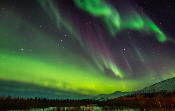 Scotts Car Wash >> Photos: Brilliant Northern Lights display over Alaska | KOMO