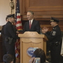 New Bedford officer, firefighters honored for saving lives during fire