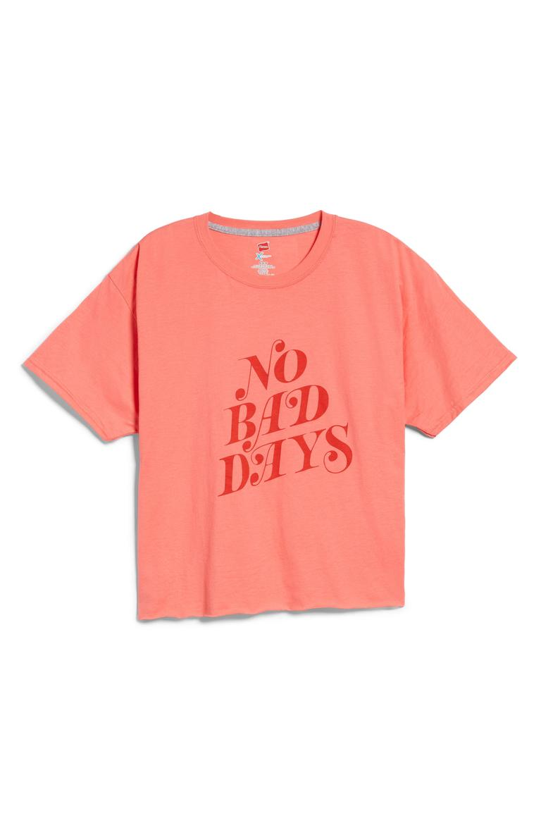 "Ban.Do No Bad Days Tee - $40. A good t-shirt never goes out of style. You can dress them up or down, but it's all about what statement your shirt is making! Here are our favorites from the Pop-In@Nordstrom x Hanes. This all-exclusive is a multi-branded collab using Hanes tee's as ""wearable art."" Well known brands and designers took to the task such as Warby Parker, Opening Ceremony, Saturdays NYC, Blair Breitenstein, A.L.C., and more. All these tees will be available at Nordstrom but online as well at nordstrom.com/pop (Image: Nordstrom)"