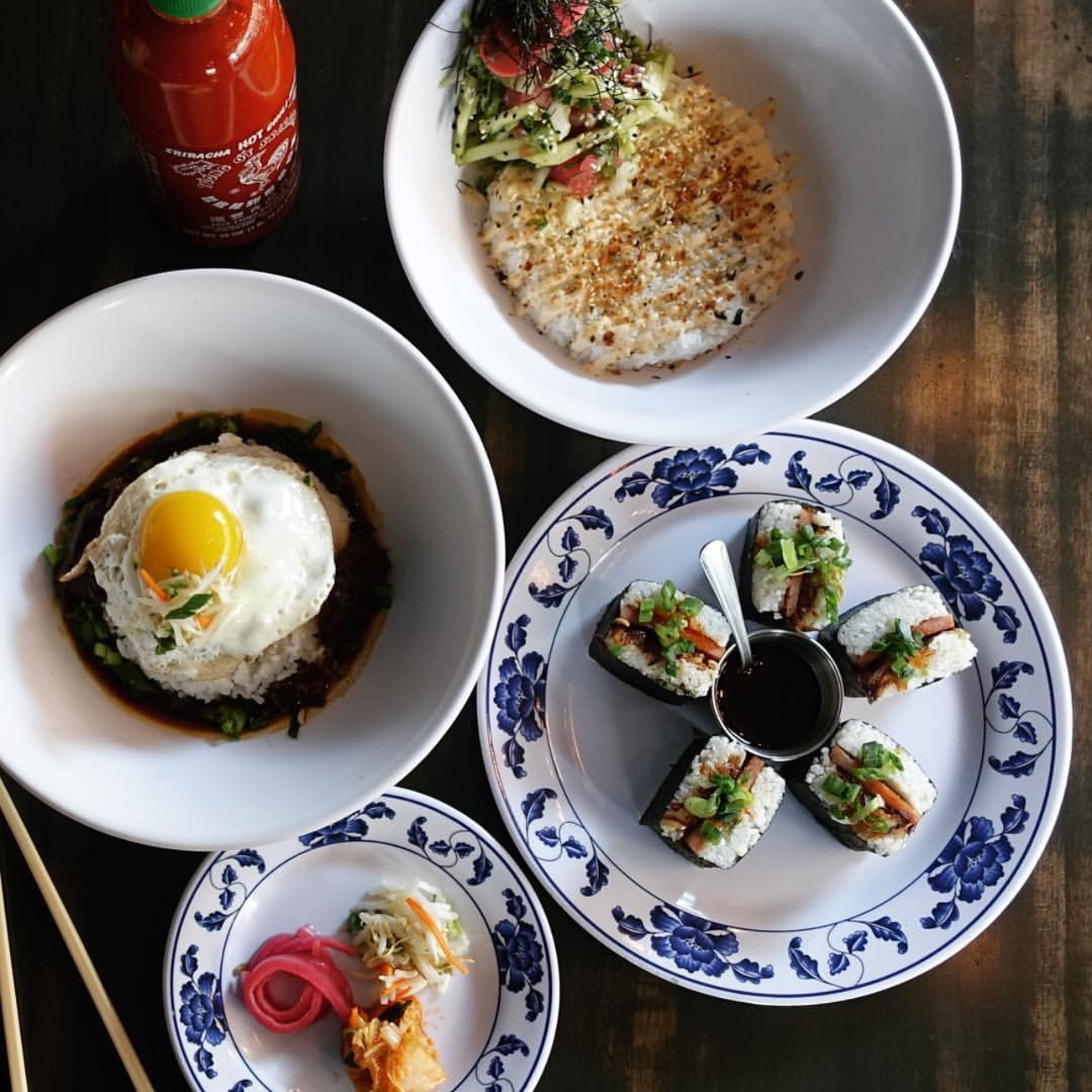 Quan Hapa (located in OTR) bills itself as an Asian street food restaurant. ADDRESS: 1331 Vine St (45202) / Image: Phil Armstrong, Cincinnati Refined // Published: 1.10.17