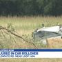 Three men seriously injured in rollover accident on South side
