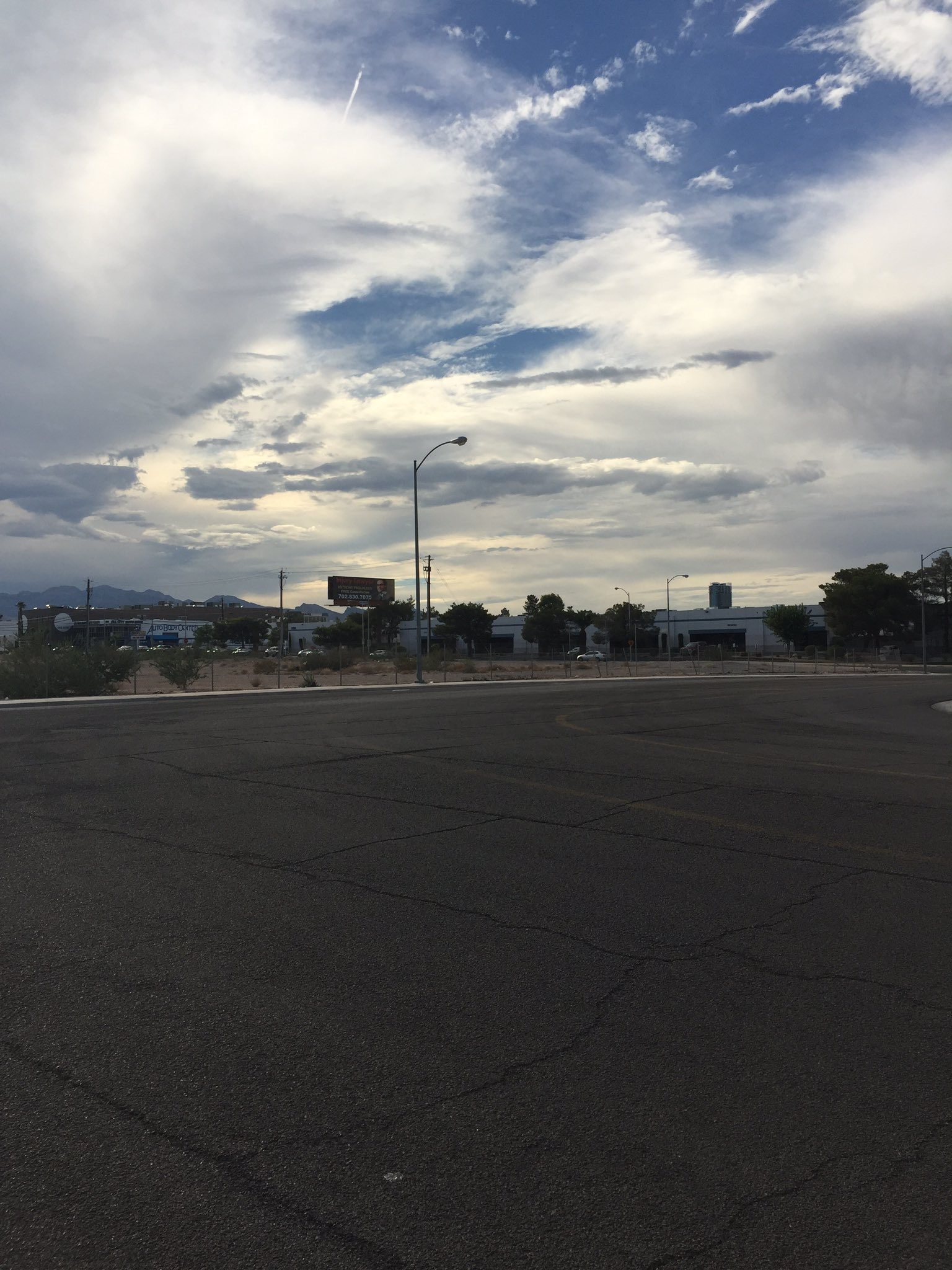 A neighborhood on the verge of change: the site of the future Raiders stadium and  current debate over parking. (Jeff Gillan | KSNV)