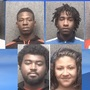 Six arrested after armed robbery in Myrtle Beach