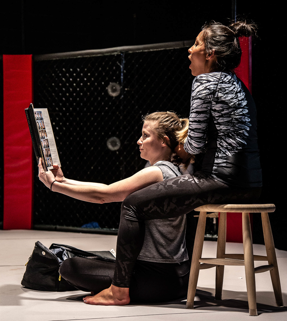 Tess Talbot and Abi Esmena / Girl in the Red Corner by Stephen Spotswood plays every Wednesday through Sunday from July 26 to August 17 at Know Theatre in Over-the-Rhine. ADDRESS: 1120 Jackson Street (45202) / Image: Daniel Winters Photography // Published: 7.31.19