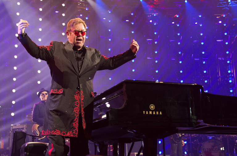 Sir Elton John performs live at the Apple Music Festival 2016 at Camden's Roundhouse  Featuring: Sir Elton John Where: London, United Kingdom When: 18 Sep 2016 Credit: WENN.com