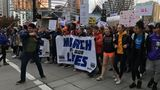 Thousands rally, head downtown at 'March For Our Lives' in Seattle