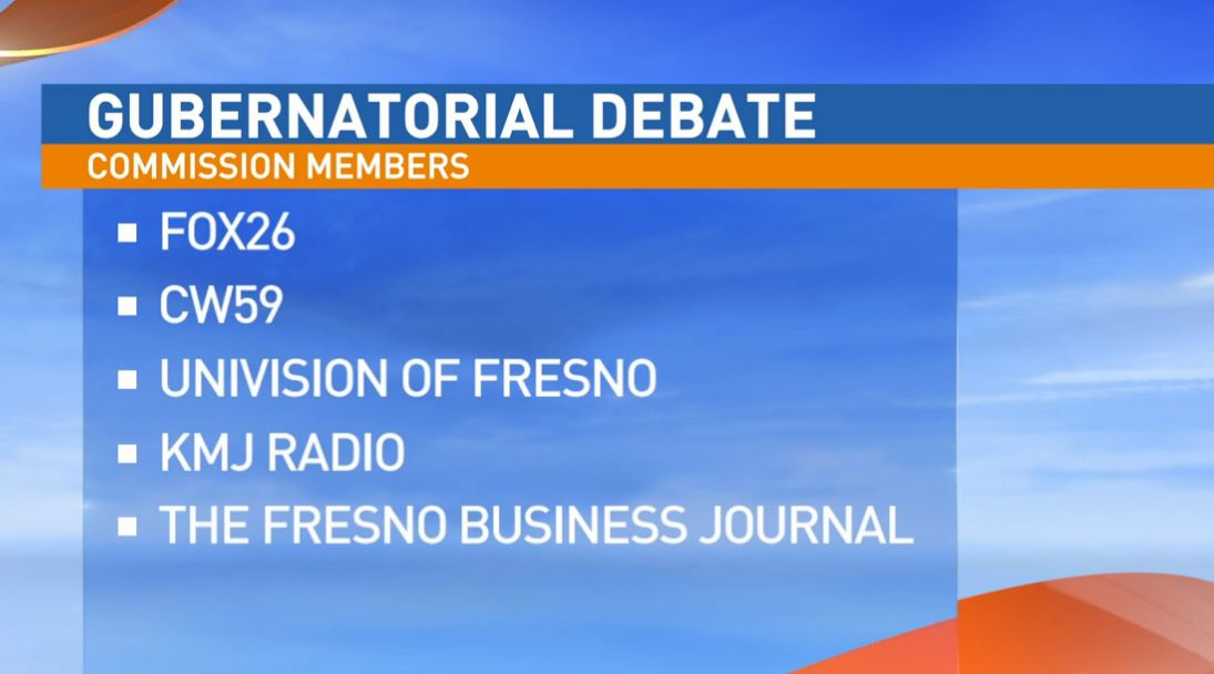 City of Fresno Mayor Lee Brand visited Great Day to explain why he thinks it's so important to have a debate here in the Central Valley.