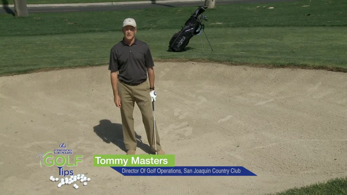In this tip, Tommy Masters shows you tips for getting out of the bunker.