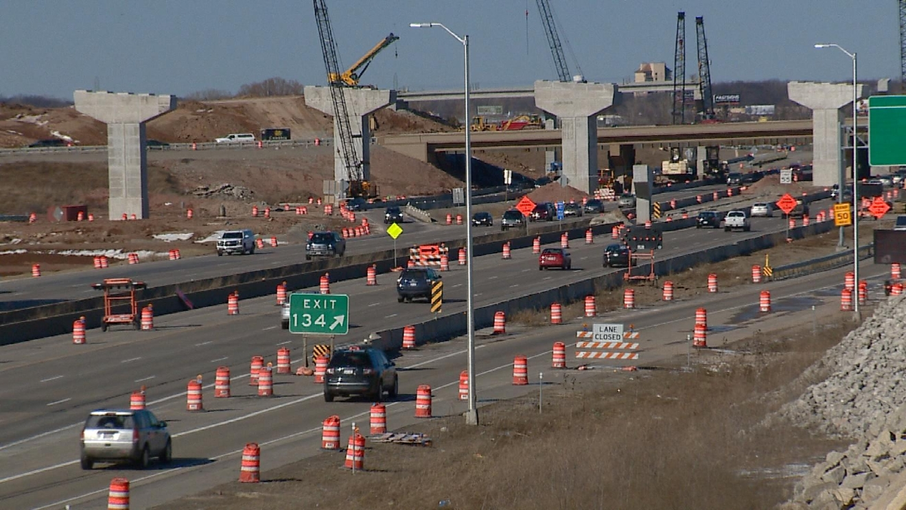 441 Construction on Friday, March 14, 2017. (WLUK/Mike Moon)