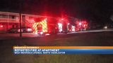 Fire reported at North Charleston apartments