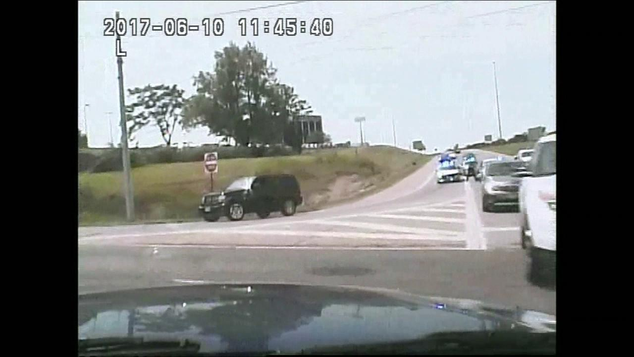 Video: Miamisburg Police Department, Police dash cam from June 10, 2017.