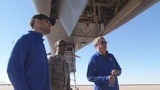Texas Rangers visit Dyess Air Force Base